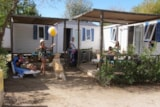 Rental - Mobile-Home Tribu 4 Bedrooms - Camping Club Le Marisol