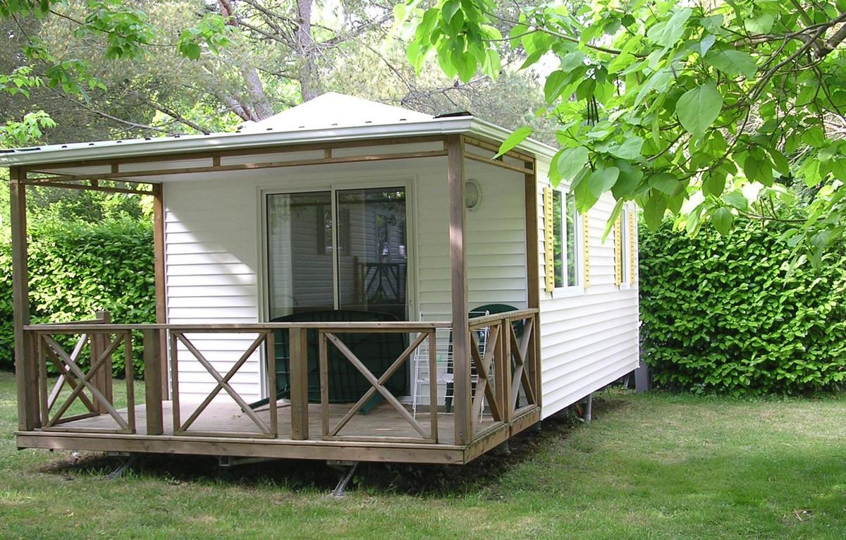 Location - Mobilhome Start  2 Chambres 21M² + Terrasse Couverte - Camping Aloe