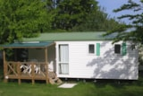 Rental - Mobilhome O'phéa 25M2 + Sheltered Terrace - Camping Aloé