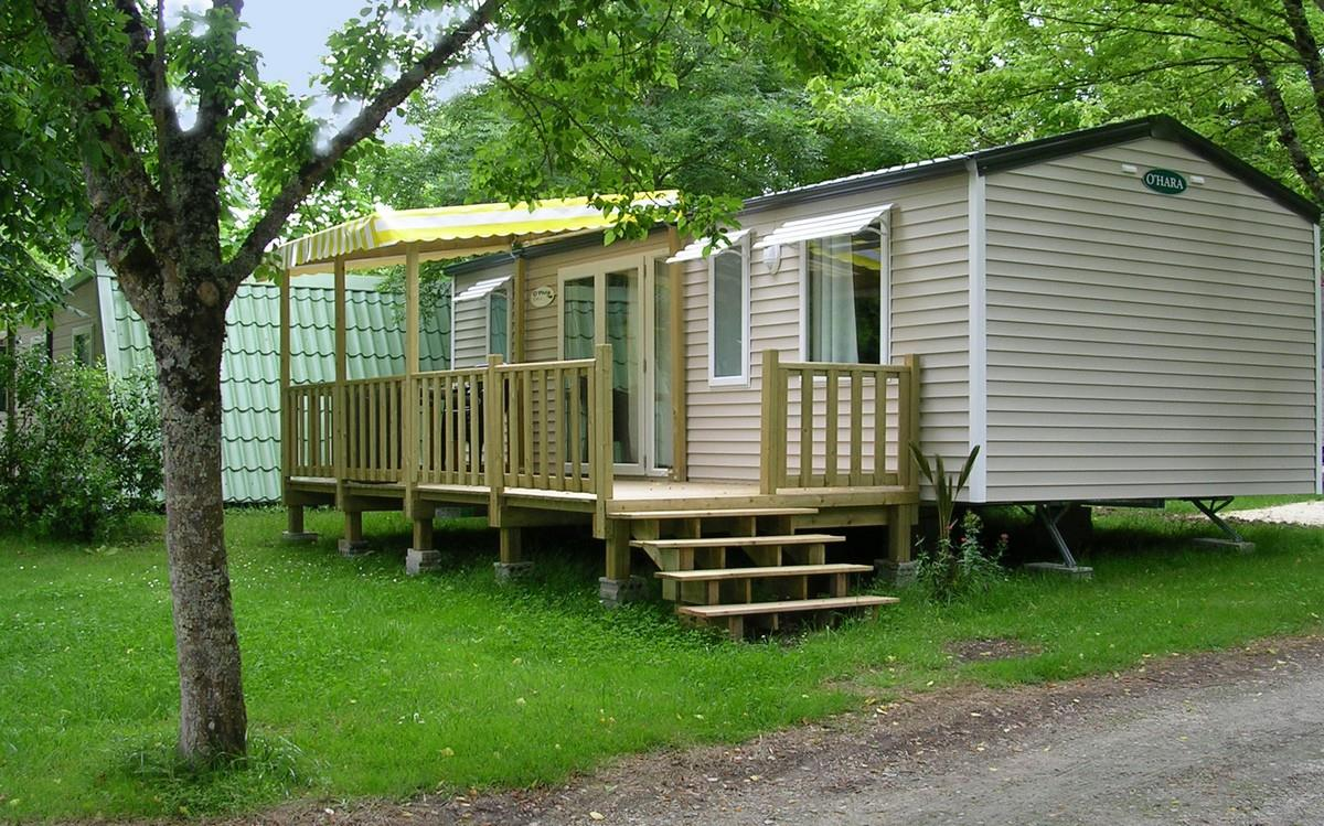 Location - Mobilhome Family 3 Chambres 31M2 + Terrasse Couverte - Camping Aloe