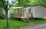 Rental - Mobilhome FAMILY  3 bedrooms 31M2 + sheltered terrace - Camping Aloé