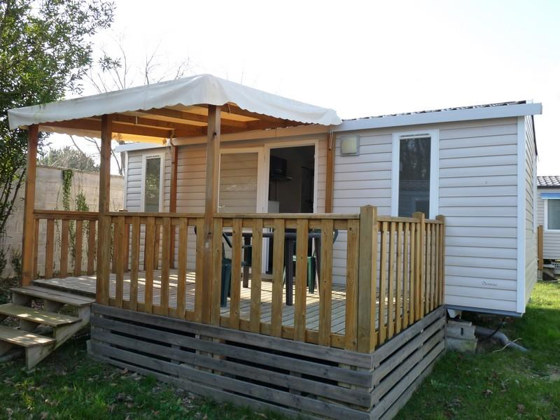 Location - Mobilhome Loisir 25M² 2 Chambres +  Terrasse Couverte - Camping Aloe