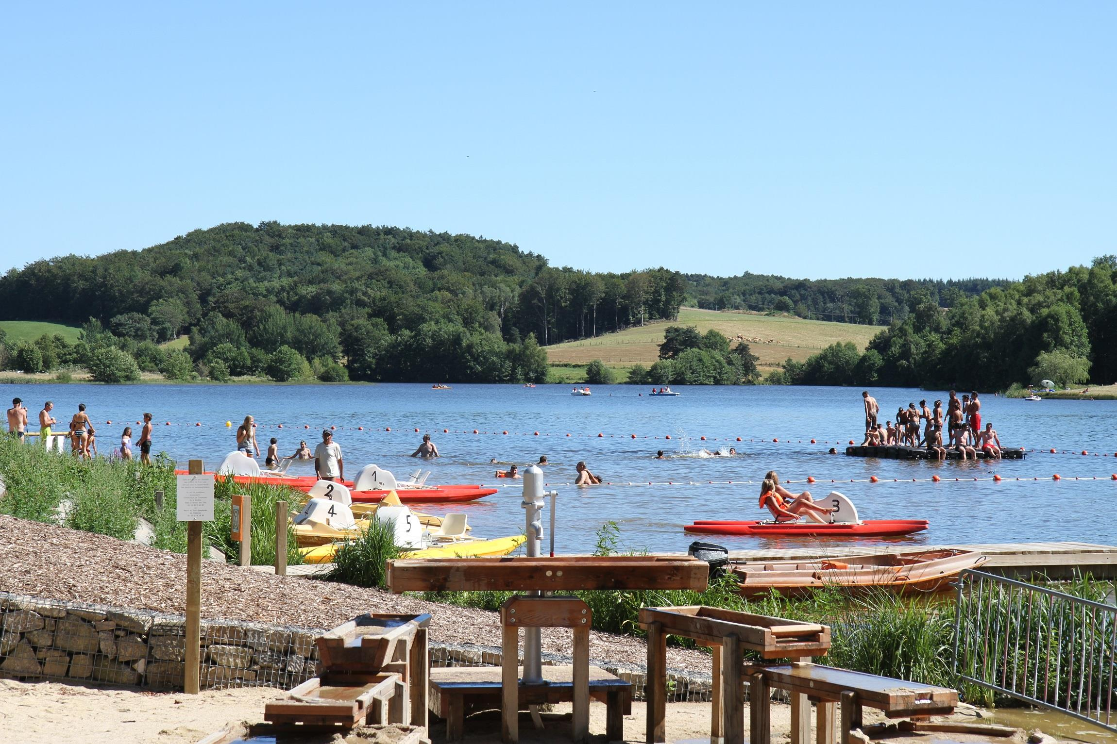 Establishment Camping de St Gervais - Saint Gervais Aveyron