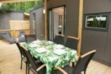 Rental - Mobile home KOSY 4, wooden terrace, TV, air conditioning, 1 car (2 bedrooms) - Ecolodge L'Etoile d'Argens
