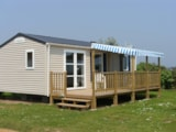 Rental - Mobile home 31m² with parental suite and half-covered terrace 15m² - Camping Le Varquez-sur-Mer