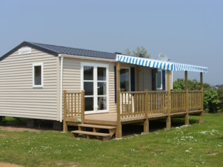 Mobile home 31m² with parental suite and half-covered terrace 15m²