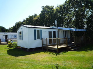 Mobil-home 2 bedrooms 29m² + Half-covered terrace 15m²