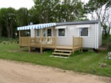 Rental - Mobil-home 3 bedrooms 33m² + half-covered Terrace - Camping Le Varquez-sur-Mer
