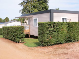 Mobil-home 3 bedrooms 27m² + Half-covered terrace 8m²