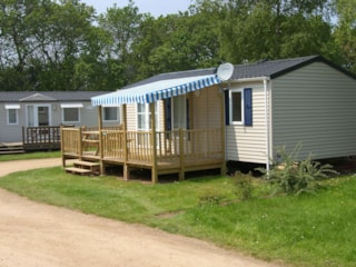 Mobil home 31m² with parental suite and half-covered terrace 15m²