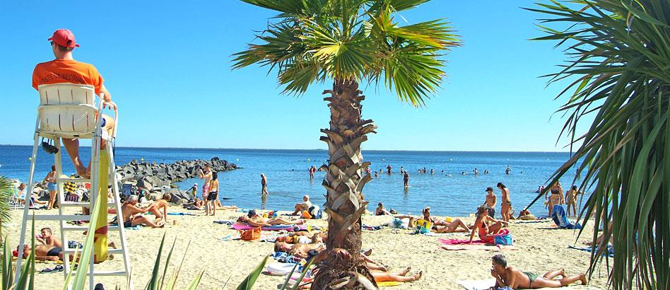 Plages Camping Beau Rivage - MEZE