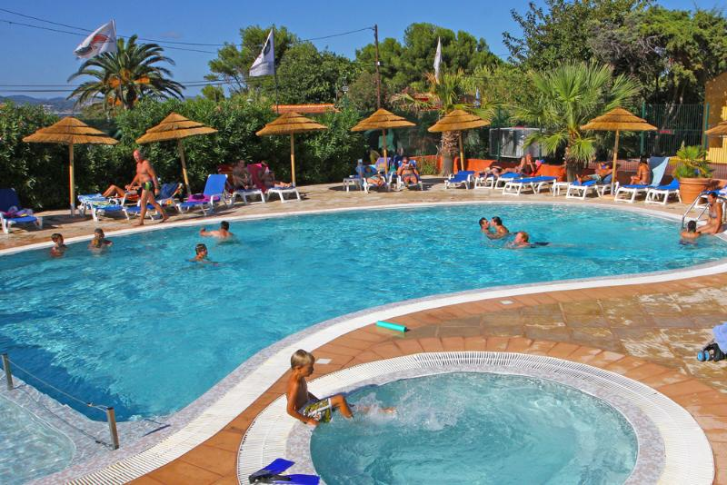 Mare, piscina Camping International - Hyères