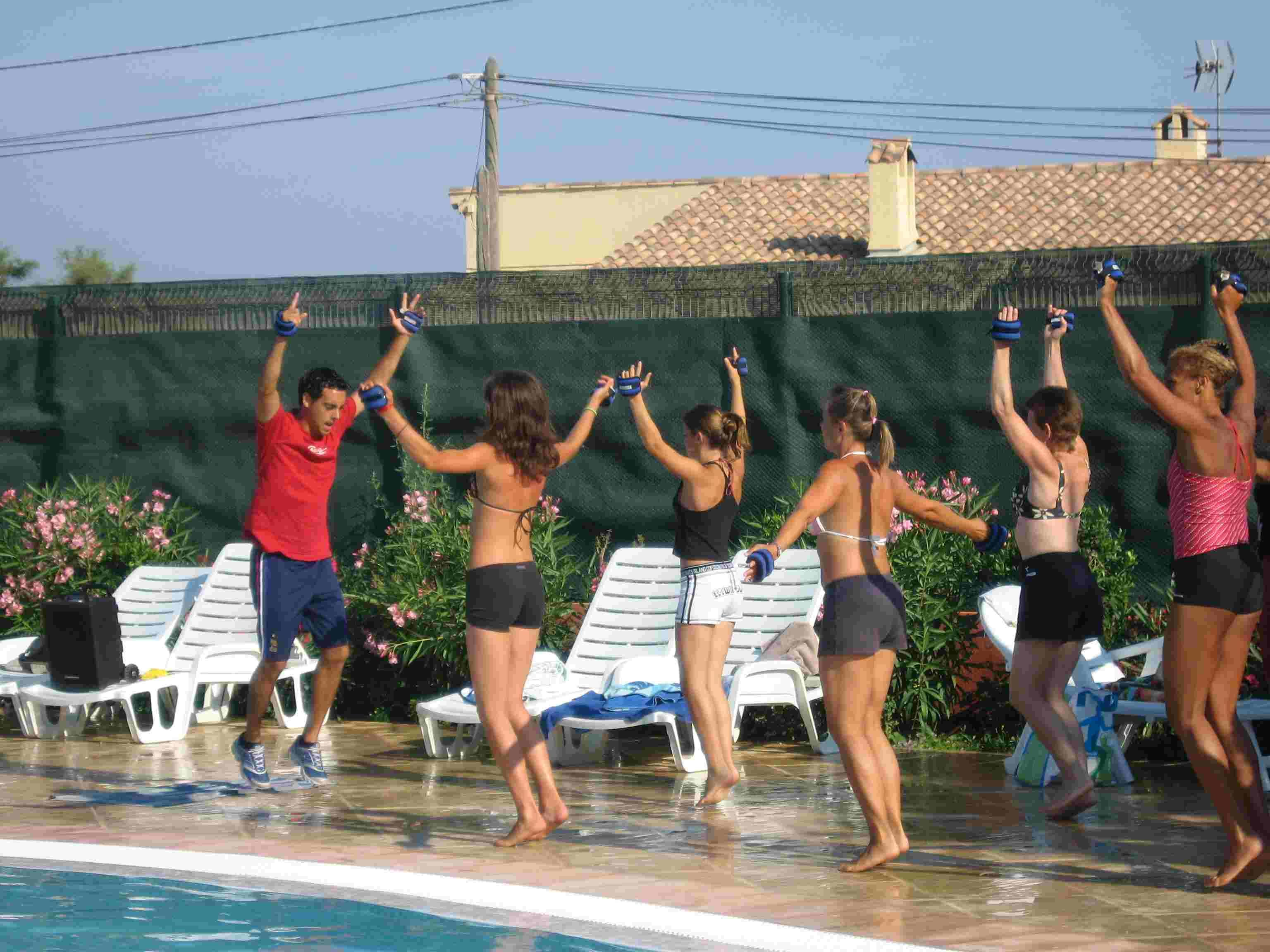 Entertainment organised Camping International - Hyères