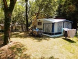 Pitch - Package: Pitch + car + tent or caravan + electricity - CAMPING LES FAUVETTES