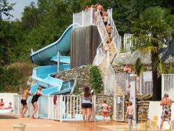 Bathing Flower Camping Les Fauvettes - Anduze