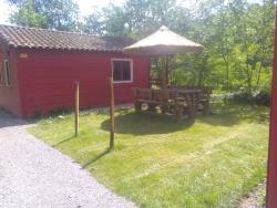 Rental - Chalet Confort 4/6 Places 30M² (2 Bedrooms + Convertible Sofa) - Camping Coeur d'Ardèche