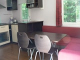 Rental - Mobil-home 4/6 places 26m² (2 bedrooms + 1 convertible sofa) - Camping Coeur d'Ardèche
