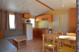 Rental - Mobi-home 5/7 places (two bedrooms and a bench) - Camping Coeur d'Ardèche