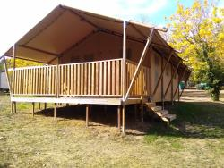 Safari tent 25m2 (two bedrooms)