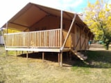 Rental - Safari tent 25m2 (two bedrooms) - Camping Coeur d'Ardèche