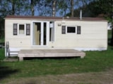 Rental - Mobile Home Standard (<= 2000) 2 Bedrooms - 23M² - - CAMPING LES GRANGES BAS