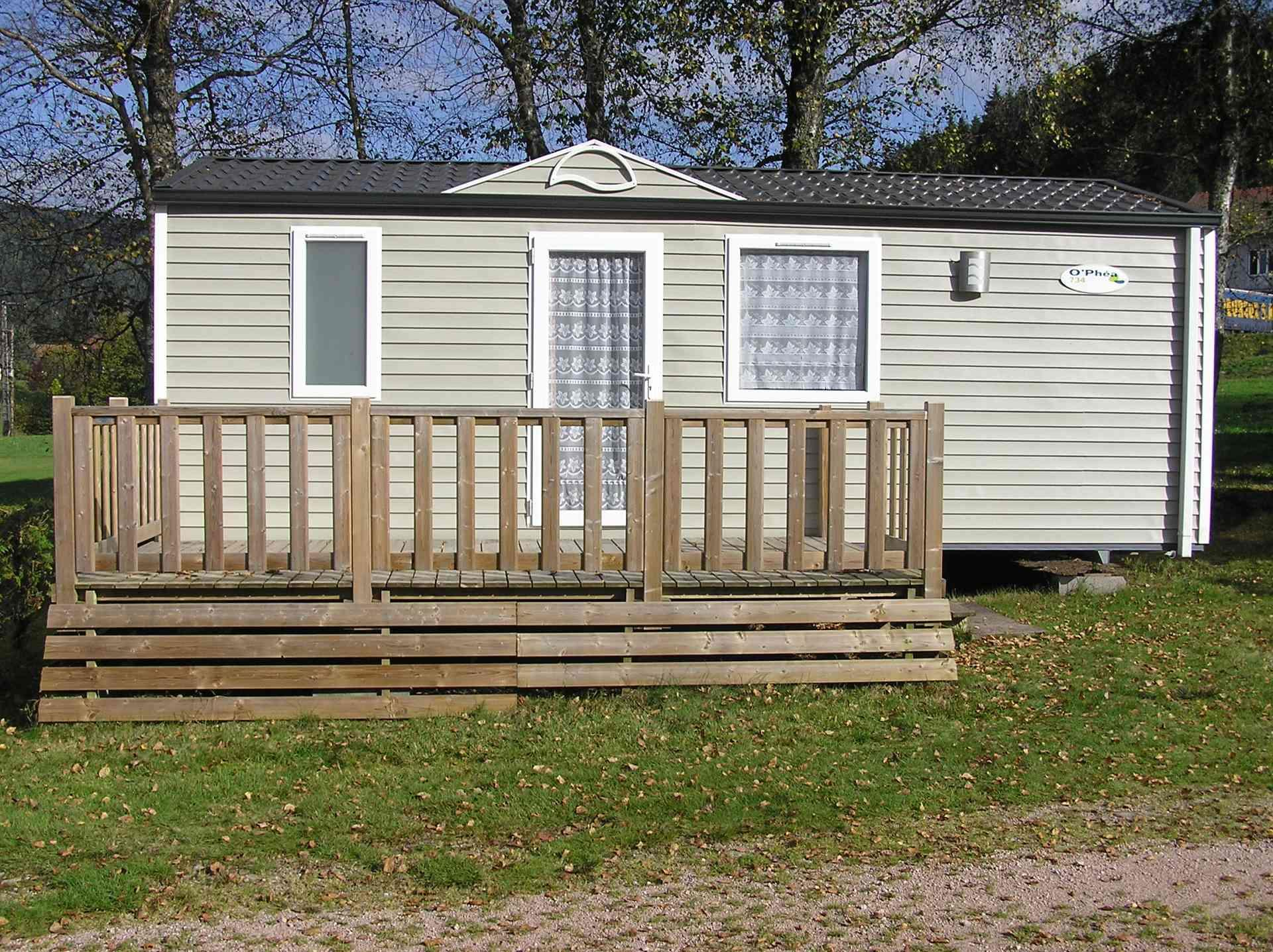 Location - Mobilhome O'hara 734 (2010) 2 Ch. - 26M² - 4/5 Pers. - Camping Les Granges-Bas