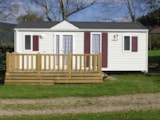 Rental - Mobile Home Louisiane Flores (2011) 2 Bedrooms - 28 M² - - CAMPING LES GRANGES BAS