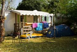 Rental - Mobile home - Camping Le Rocher de la Cave