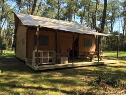 Huuraccommodaties - Tente Safari Lodge - Camping Le Rocher de la Cave