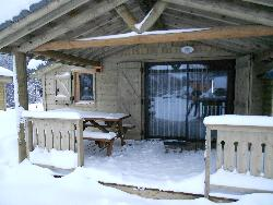 8. MOUNTAIN WOODEN CHALET WITH WHEELCHAIR ACCESS 35 SQM with terrace
