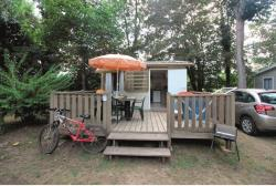 Rental - Tithome without toilet block 20.80m² (0-7 year) - Camping Le Beau Rivage