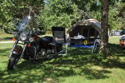 Pitch motor home - without electricity - gravel / grass - Free Wifi*