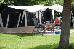Serviced pitch caravan of 110 m² - electricity 10A - water connection and greywater disposal on the site - Free Wifi*