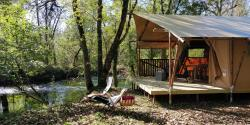 Luxury Tent Lodge Safari by the river 40 m2