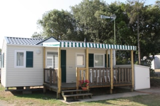 Mobilhome Sheltered Terrace