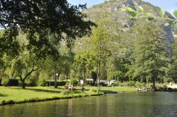 Establishment Camping Des Grottes**** - Alliat