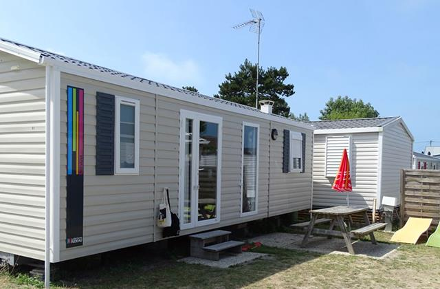 Accommodation - Cottage - 2 Bedrooms - Camping Les Mouettes