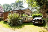 Rental - Chalet Trianon N°2 27M² 2 Bedrooms + Sheltered Terrace - Camping de la Plage Bénodet