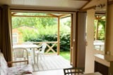 Rental - Chalet COTTAGE 40m² - 3 bedrooms + sheltered terrace - Camping de la Plage Bénodet