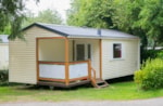 Rental - Mobile home 24m² with private facilities - 2 bedrooms + Terrace - Camping de la Plage Bénodet