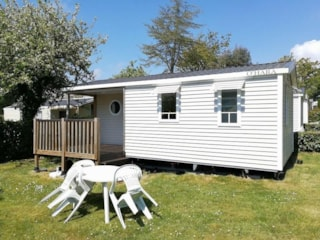 Mobile Home 24M² With Private Facilities - 2 Bedrooms + Terrace