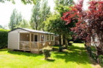 Rental - Mobile home 27m² with private facilities - 2 bedrooms + Terrace - Camping de la Plage Bénodet