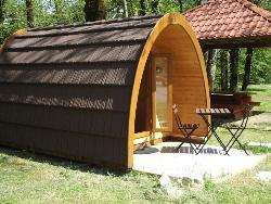Wooden Cabin Eco 6M² + Terrace - Without Toilet Blocks