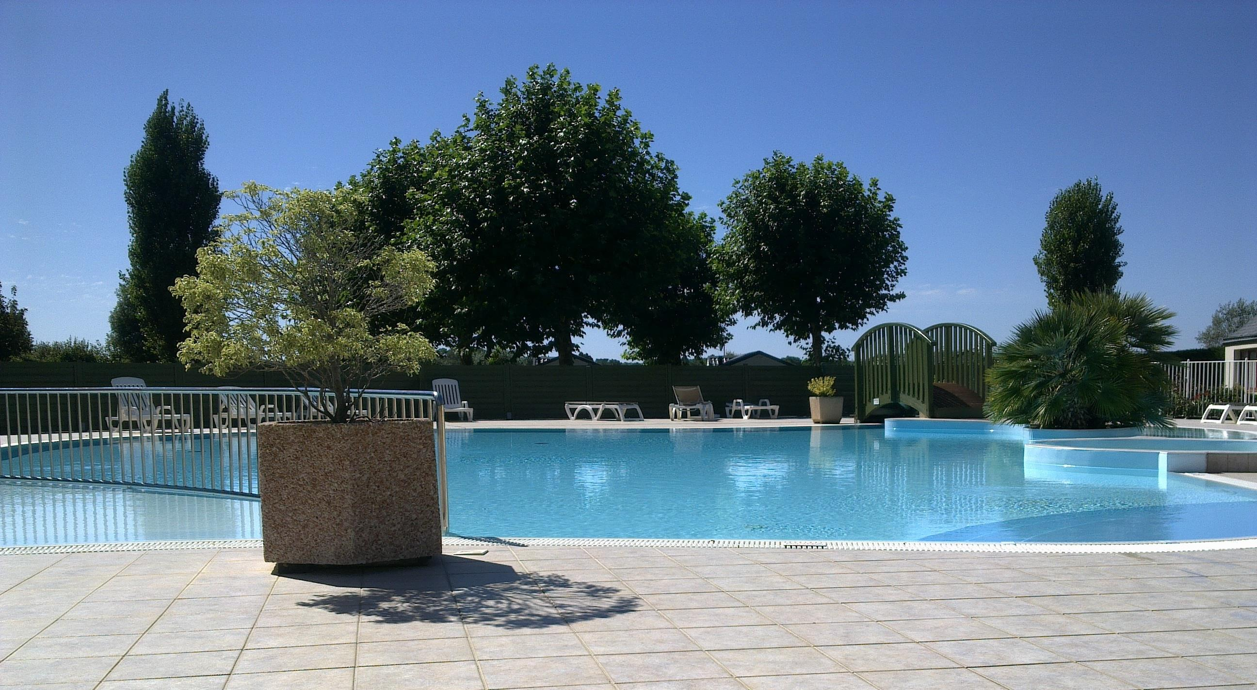 Mare, piscina Camping Les Druides - Carnac