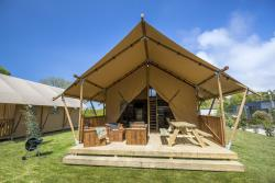 Glamping Lodge 37.8 m² -  2 Zimmer - 1 Bad...