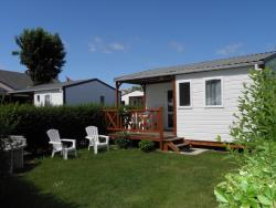 Location - Chalet 2 Chambres - 30M² + Terrasse Couverte - Camping La Gallouette