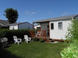 Rental - Chalet 30M² Pitched Roof - Camping La Gallouette