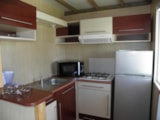 Rental - chalet 35m² 2 bedrooms pitched roof - Camping La Gallouette