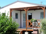 Rental - Chalet 40M² 3 Bedrooms  Pitched Roof - Camping La Gallouette