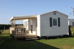 Mobile home 27,5 m² (2 bedrooms) + überdachte Terrasse